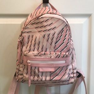 Longchamp Neo les Pliage Backpack small pink